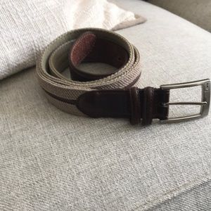Other - Mens canvas and leather belt